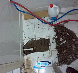 Fayansları kırmadan su kaçağı tespiti